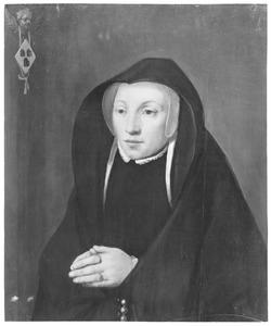Portret van een vrouw genaamd Maria van Bakel ( ?-1514)