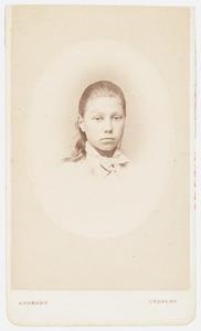 Portret van Jacoba Dorothea Quarles de Quarles (1865- )
