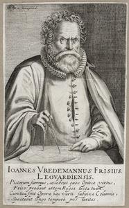 Portret van Hans Vredeman de Vries (?-1609)