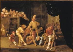 Brutus als zot voor Tarquinius