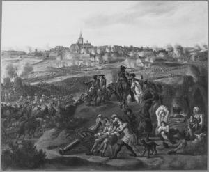 De herovering van de stad Naarden door stadhouder Willem III in 1673