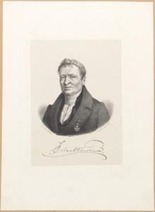 Portret van Jacobus Scheltema (1767-1835)