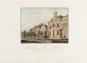 Gezicht op de Rooms Katholieke Kerk aan de Singel te Amsterdam