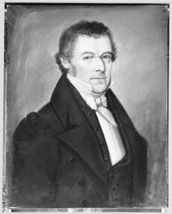 Portret van Francois Was ( -1858)