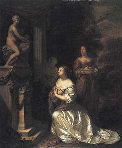 Het aanbidden van Venus