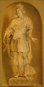 Standbeeld van keizer Frederik III