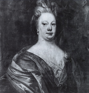 Portret van His Maria van Burmania (1693-1757)