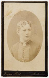 Portret van Wilhelmina Margaretha Swart (1850-1900)