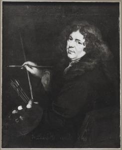 Zelfportret, mogelijk van David van der Plas (1647-1704)