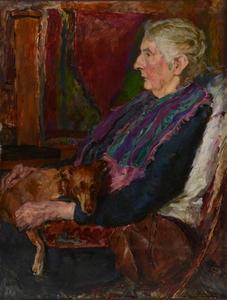 Portret van mevrouw van der Graag