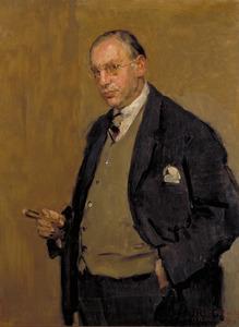 Portret van Nehemia de Lieme (1882-1940)