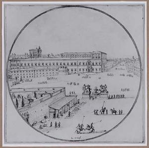 Het Quirinaal te Rome