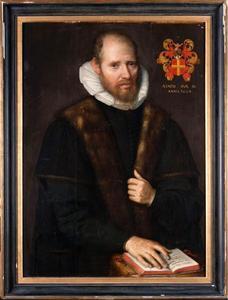 Portret van Henricus Antoni van der Linden (1546-1614)