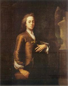 Portret van Nicolaas Dierkens (1670-1745)