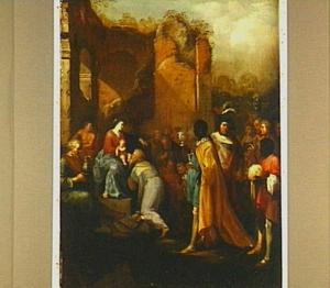 De aanbidding van de drie koningen (Mattheus 2:1-12)