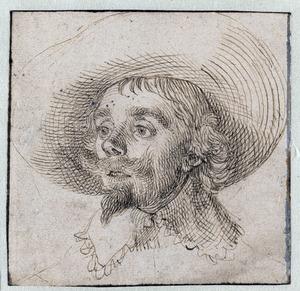 Portret van een man genaamd Hendrik Cornelisz. Vroom (....-1640)