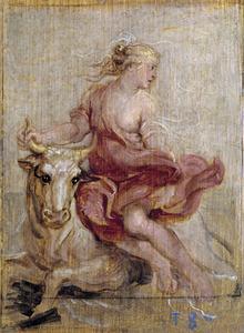 De ontvoering van Europa (Ovidius, Metamorfosen, II, 868-875)
