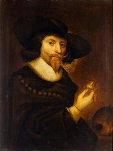 Zelfportret van George Jamesone (c. 1589-1644)