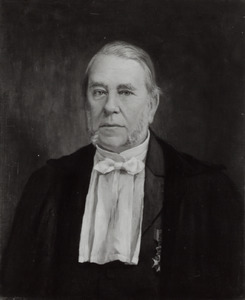 Portret van Jean Abraham Chretien Oudemans (1827-1906)