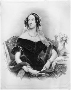 Portret van Carolina Francisca Josephina van Brouckhoven de Bergeyck (1802-1846)