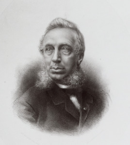 Portret van Justus Dirks (1825-1886)