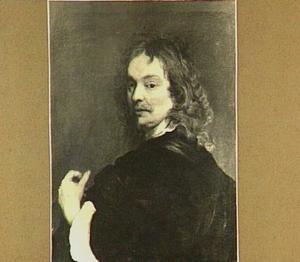 Zelfportret van Adriaen Hanneman (....-1671)