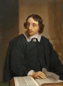 Portret van een man, mogelijk Johannes Crucius (1622-1652)