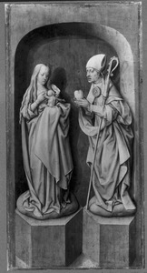 Maria met kind en de H. Augustinus van Hippo