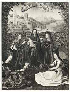Maria met kind en H. Catharina, H. Barbara, H. Ursula en H. Cecilia