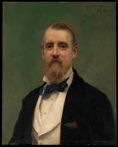 Portret van Samuel Putnam Avery (jr) (1822-1904)