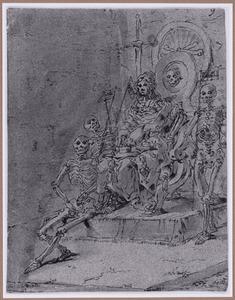 De Dood als rechter op haar troon (Suenos 1641, boek II, vierde droom)