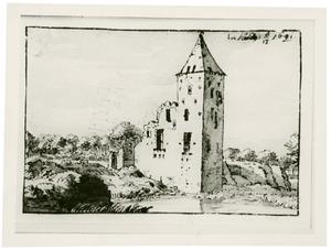 De ruïne van het kasteel te Heusden