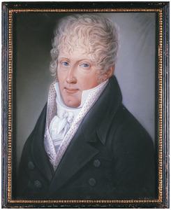 Portret van Clemens Fredericus Wilhelmus baron van der Heyden (1791-1838)
