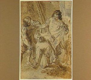 De tuinman Abdanolymus ontvangt uit handen van de gezanten van Alexander de Grote de tekenen van vorstelijke macht van Sidon  (Q. Curtius Rufus 4, 1, 19-23)