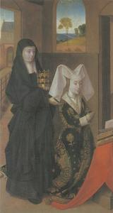 Isabella van Portugal met de Heilige Elisabeth