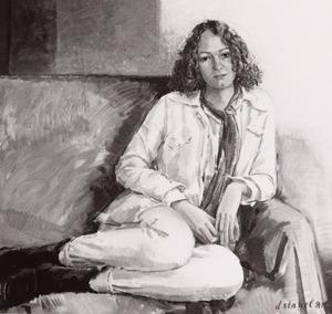 Portret van Maaike Jansen