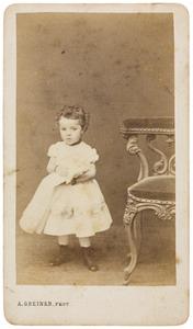 Portret van Charlotte Louise Everts (1864-1893)