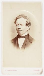 Portret van Franciscus Henricus Moorrees (1821-1901)