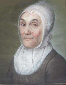 Portret van Mechteld Hassels (1762-1840)