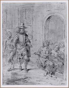 Quevedo en de hoeren  (Suenos 1641, boek VI, vijfde droom)