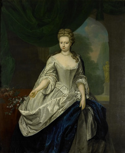 Portret van Louise Christina Trip (?-1733)