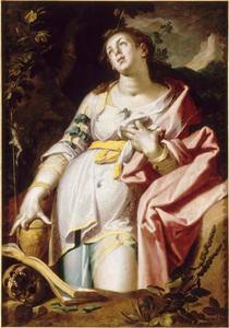 De boetvaardige H. Maria Magdalena in de wildernis