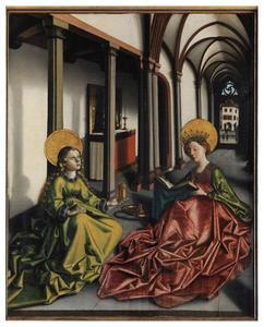 Maria Magdalena en de H. Catharina