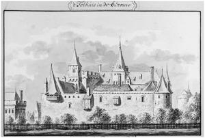 Ene zijde van het Tolhuis (ook wel Huis te Lobith) te Pannerden