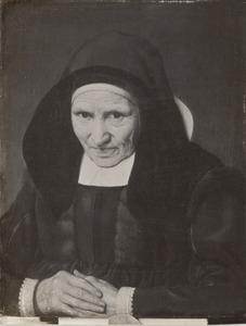 Portret van een 83-jarige vrouw