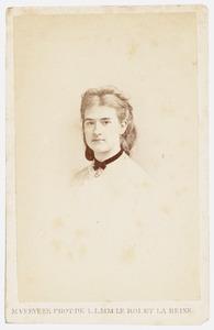 Portret van Johanna Wilhelmine Jedoka Arandina von Schmidt auf Altenstadt (1866-1944)