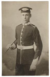 Portret van Ernest Donkersloot (1886-1914)