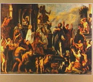 Paulus en Barnabas te Lystra (Hand.14:16-18)