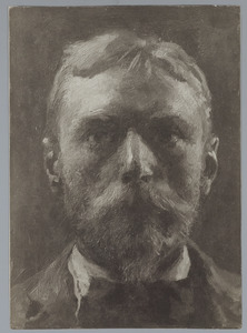 Zelfportret van Willem Bastiaan Tholen (1860-1931)