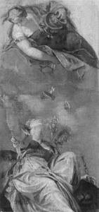Juno strooit haar schatten over de stad Venetië